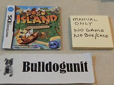 Pogo Island Nintendo DS Manual Only No Game
