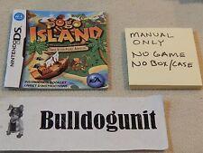 Pogo Island Nintendo DS Manual Only No Game