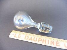 OBERGRENZE VON KARAFFE ANTIK AUS GLAS GEBLASENES BLASE (WASSERWAAGE)/VINTAGE
