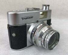 Voigtlander Vito B 35mm Camera with fast Skopar f2.8 50mm Lens **FREE UK P&P**