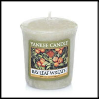 Yankee Candle Votive  Bay Leaf Wreath Rare Retired  New & Sealed