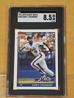 1991 Topps Desert Shield Darryl Strawberry SGC 8.5 Newly Graded