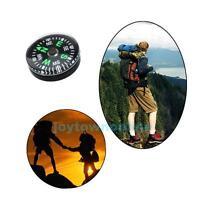 12pcs 20mm Portable Mini Compass Outdoor Hiking Camping Pocket Survival Kits