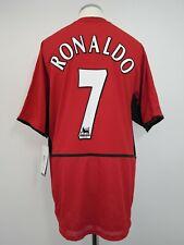 Manchester United Football Shirt Adult Large RONALDO #7 2002/2004 New