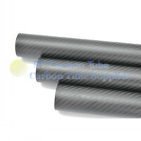 3K Carbon Fiber Tube ID 17mm x OD 19mm x 1000mm For Quadcopter Multicopter Matte