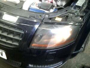 Audi TT mk1 Passenger L/H Halogen headlight, black insert, Collection only,