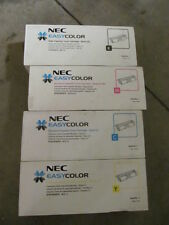 Genuine S2583KH S2583CH S2583MH S2583YH High Yield Toner Set for NEC C520