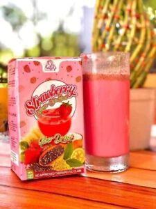 Strawberry Collagen Chia Seed Fiber Drink (10 sachets)