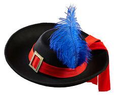 Mosquetero sombrero de los niños fieltro NUEVO - CARNAVAL GORRO