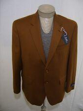 Ralph Lauren Mens 100% Wool Sport Coat Blazer Jacket Vicuna Brown Solid 40L $295