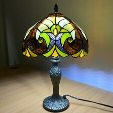 Vintage Tiffany Table Lamps Baroque Stained Glass Desk Light Fixtures Bedroom