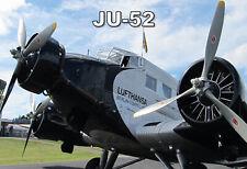 AIRFIX Shop Publicité Carte 1970 S-Junkers Ju 52 WWII German Aircraft