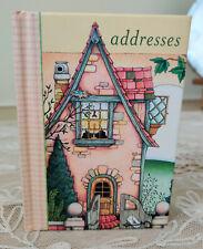 Rare Mary Engelbreit Home Companion Address Book Purse Vintage Cottage House New