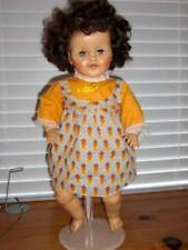 "Arranbee ~ Vintage 1950's Vinyl 19"" Sitting Doll with Working Crier Who?"