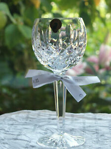 Waterford Crystal Lismore Hock / Wine Glass Brand New Made in Ireland