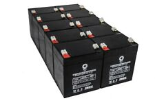 Sps 10pk - 12V5Ah Battery Replacement for Enduring Scooter Cb4.5-12, Cb 4.5-12