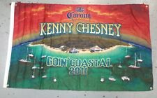 Kenney Chesney 2011 Goin Coastal Concert Corona Beer 3' X 5' Flag Banner