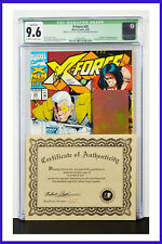 X-Force #25 CGC Graded 9.6 Marvel 1993 Signed & Numbered W/COA Comic Book