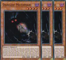 YuGiOh 3x Danger! Mothman! SOFU-EN084 SUPER RARE TCG AtzenJens
