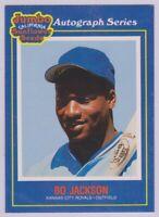 "1990  BO JACKSON - ""JUMBO SUNFLOWER SEEDS"" Baseball Card # 4 - K.C. ROYALS"