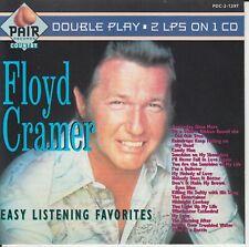 FLOYD CRAMER Easy Listening Favorites (CD 1991) 20 Songs BMG Made in USA