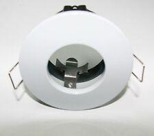 Aurora A2-DLM413W GU10/MR16 Cast Aluminium IP65 Fixed Halogen Downlight White
