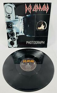 Def Leppard - Photograph UK IMPORT (1983) Vertigo