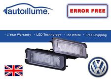 VW Golf GTI R Mk7 Mk6 Mk5 Canbus Compatible LED Licence Number Plate Lights