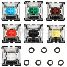 7Pcs Switches for Mechanical Keyboard Sampling and Testing + 7Pcs O-Rings Sample