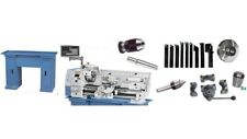 BERNARDO Drehmaschine Profi 700 BQV inkl. 2-Achs-Digitalanzeige + 8x Zubehör