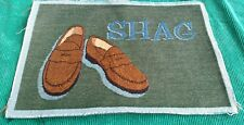 Advert. Tapestry Panel David Spencer SHAG Penny Loafer Unfinish Wall Hang/Pillow