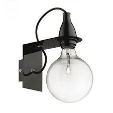 APPLIQUE IDEAL- LUX MODELLO MINIMAL AP1 NERO COD. 045214