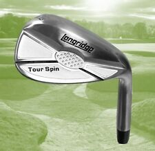 Longridge Tour Spin Stainless Steel 60 Degree Black Golf Lob or Sand Wedge