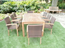 Rattan Up to 8 Seats Table & Chair Sets