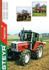 Steyr Traktoren 8060 8070 8080 8090, orig. Prospekt 1991