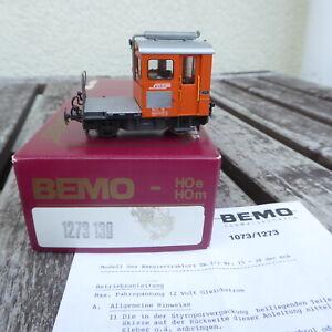 Bemo 1273 139 Shunting Tractor Tm 2/2 For H0m Der Rhb Epoch 4/6 neuwertig IN