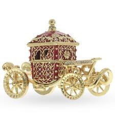 Tsar Coronation Coach Russian Trinket Jewelry Box