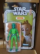 "Star Wars The Black Series Greedo 6"" LucasFilm 50th Anniversary Amazon Not Mint"