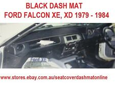 DASH MAT, DASHMAT FORD FALCON XE, XD 1979 - 1984, BLACK