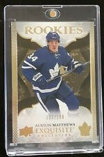 2016-17 UD Exquisite Collection Auston Matthews Rookie #122/199 Maple Leafs