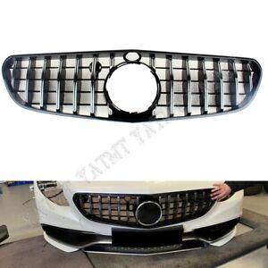 Car Front Racing Grills Facelift For Mercedes-Benz W217 S63 Coupe AMG 2015-2017