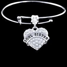 Soul Sister Charm Bracelet Best jewelry gift Soul sister bangle sole sister gift
