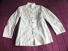 WW2 Tunic US Navy White Officer's Dress Uniform WW2 Jacket USN Tunic Dress White