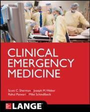 Clinical Emergency Medicine (Lange Medical Books), , Patwari, Rahul, Schindlbeck
