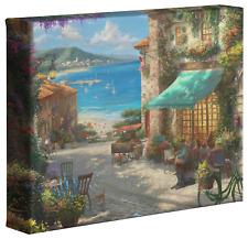 Thomas Kinkade Studios Italian Cafe 8 x 10 Canvas Gallery Wrap