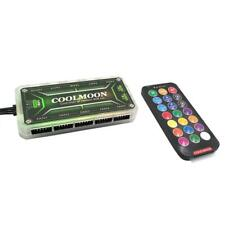 COOLMOON RGB Remote Controller DC12V 5A LED Color Intelligent Controller
