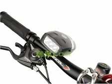 2-in-1 Bike Bicycle MTB Bell Ring Electronic Horn With Headlight Led Flashlight