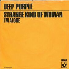 7inch DEEP PURPEL strange kind of woman HOLLAND orange cover +PS EX