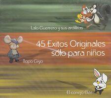 Lalo Guerrero y  sus Ardillas 45 Exitos Originales Solo para ninos 3CD New Nuevo