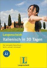 Italienisch in 30 Tagen. Der kompakte Sprachkurs. (Lernmaterialien) /4
